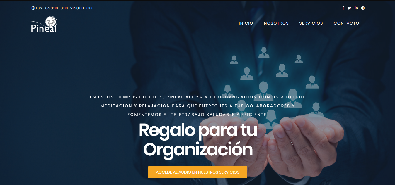 Sitio web Pineal